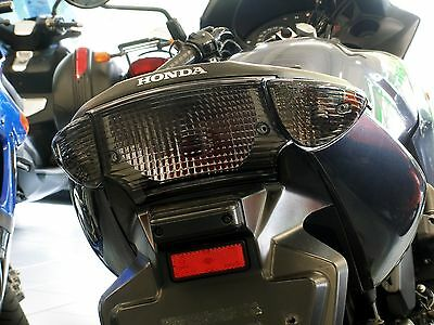 Smoked Glass Rear Light Indicator Black HONDA CBF 500 CBF 600 N S PC38 PC39 PC43