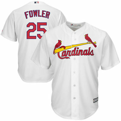 BNWT Dexter Fowler St. Louis Cardinals Men MLB Baseball Cool Base Jersey Shirt