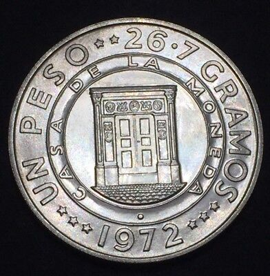 Dominican Republic 1972 1 Peso Silver Proof Commemorative