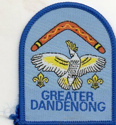Vic  Scout Badge  Greater  Dandenong