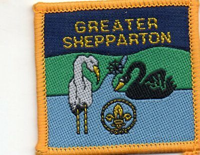 Vic  Scout Badge  Greater  Shepparton