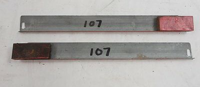 """Org Globe Wernicke Stacking Barrister Bookcase Door Track 9-3/4"""" #107 With Stop"""