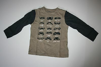 New Baby Gap 15 Different Moustaches Shirt Tee Top Size 2 Year 2T NWT Moustache