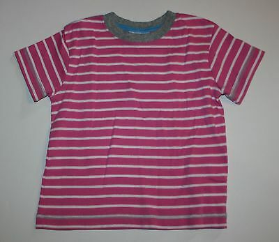 New Hanna Andersson Pink and White Striped Top Shirt Size 90 3T NWT Summer