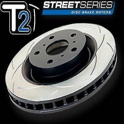 2x DBA DBA2200S T2 SLOTTED ROTOR FIT Lancer 2002-2005 FRONT PAIR