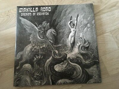 Manilla Road - Dreams of Eschaton 2-LP 2016 Cirith Ungol Brocas Helm