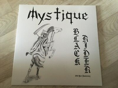 Mystique - Black rider LP 30th Anniversary Re-Release Black Knight Cirith Ungol
