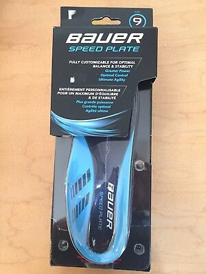 Bauer Speed Plate Mens Size 9 Ice Hockey Skates Insoles 1047134