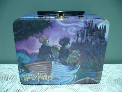 Vintage Harry Potter Journey To Hogwarts Lunch Tin - 2001 - Reasonable Cond