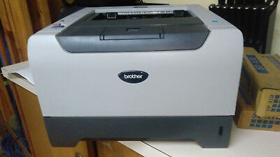 brother hl-5250dn network laser printer with brand new toner