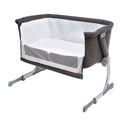 Chilcare Height Adjustable Next To Me Baby Bassinet Bed Cot Co-Sleeper Like New!
