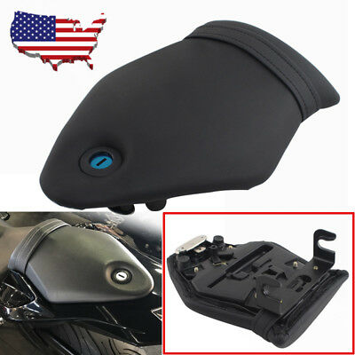 Black Motorcycle Rear Passenger Seat Pad Lock+Key for BMW S1000RR C133 2009-2015