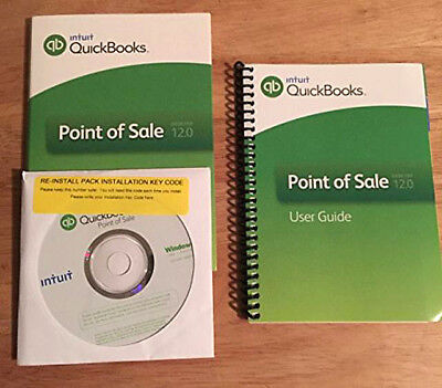 Intuit Quickbooks QB POS Point of Sale 12.0 Software ✤ 1 user ✤