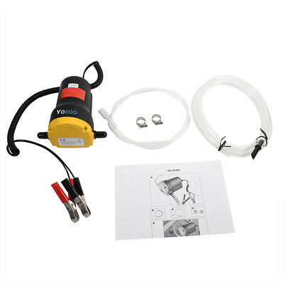 Car Motorbike Electric Oil Diesel Transfer Siphon Pump 12V 60W Extractor Fluid