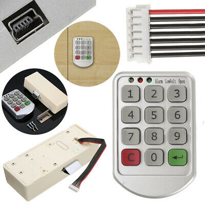 Electronic Digital Keypad Supermarket Cabinets Door Code Number Password Lock