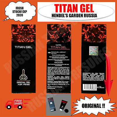 3 Pcs Titan Gel Special Gel For Men Guaranteed Original From Russia