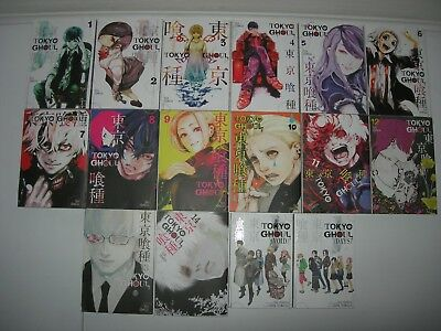 Tokyo Ghoul Books Collection 1 - 14 + VOID + DAYS  by Shin Towada   MANGA