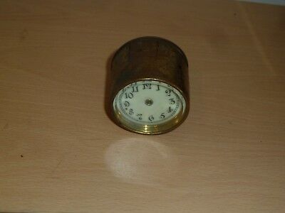 Small Junghans drum clock insert for spares 52mm across