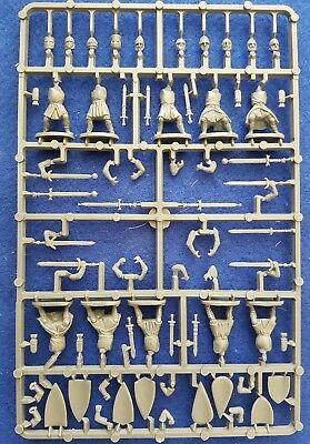 """Fireforge Foot Knights XI - XIIc sprue """"New to range"""""""
