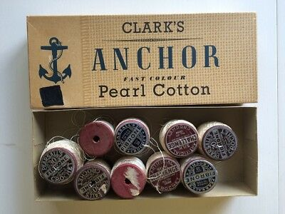 9  Wooden Reels Crochet Thread Pearsell's  Challenge
