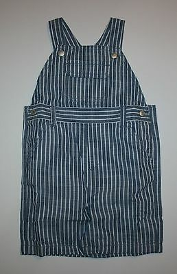 New Gymboree Striped Chambray Overalls Pants NWT 12-18m 18-24m Daisy and Tiger