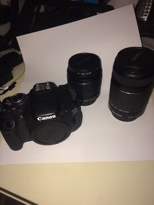 Canon  EOS 600D 18.0 MP Digital SLR Camera - Black (Kit w/ IS 18-55mm and...