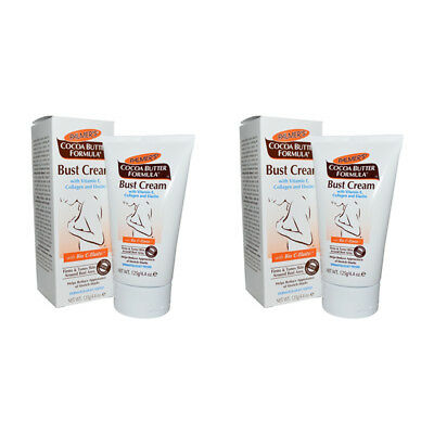2X Palmer's Cocoa Butter Formula Bust Cream With Bio C-Elaste Daily Skin Care