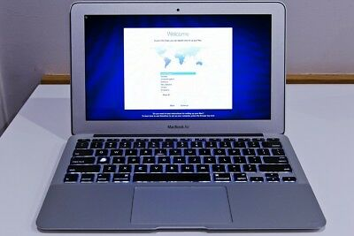 "MacBook Air 11"" (Mid 2011) Core i7 1.8GHz 256GB SSD 8GB RAM Model A1370"