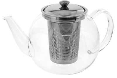 NEW TEAOLOGY 3 CUP TEA MAKER WITH STAINLESS STEEL INFUSER TEAPOTS 600ml BEVERAGE