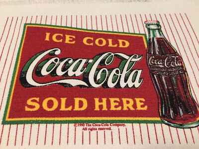 COCA COLA SANTA SET OF FOUR PLACEMATS AND A TABLE RUNNER -  NEW w/tags