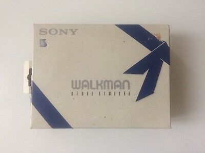 Sony Walkman Cassette Player Wm-ex12. New Boxed Edition Limitée UNUSED. Superb!