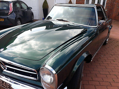1967 Classic 230sl Mercedes w113 2 tops Black plate from California