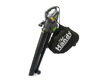 Corded Garden Blow Vac Outdoor Cleaner Lawn Patio Leaf Blower Vacuum  Shredder
