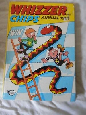 WHIZZER and CHIPS annual (1981)