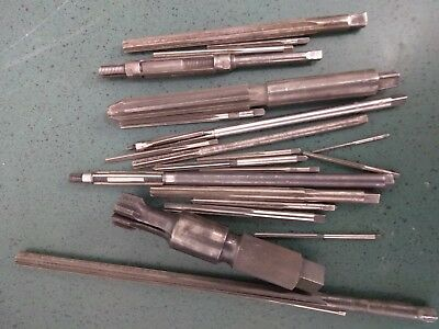 22 Assorted Reamers used in good condition