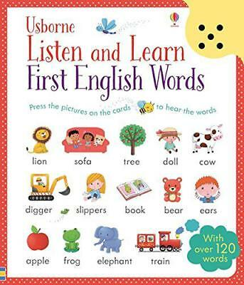 Listen and Learn First English Words by Sam Taplin | Paperback Book | 9781409582