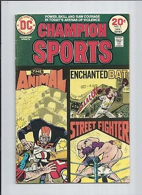 Champion Sports #2 VF (8.0) 1974 See High Res SCANS!