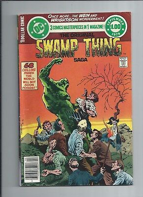 DC Special Series #17 VG/FN (5.0) 1979 Wrightson Swamp Thing ! High Res SCANS!