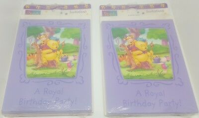 Disney winnie the pooh piglet tigger birthday invitations lot of 2 disney winnie the pooh piglet tigger birthday invitations lot of 2 packs of 8 filmwisefo
