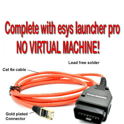 ENET Diagnostic & Coding Cable Tool ✧Fits ALL BMW F-Series ✧ Airbag Fault Reset