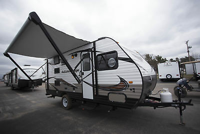 Rv Travel Trailer Camper 2018 Autumn Ridge 18Bhs Bunkhouse Camper Trailer Rv