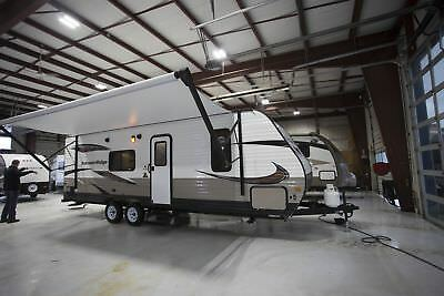 Rv Camper Travel Trailer 2018 Autumn Ridge 26Bh Bunkhouse Camper Trailer Rv