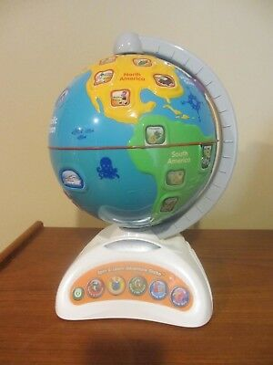 Vtech Spin and Learn Adventure Globe - YouTube