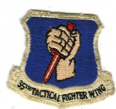 Off Flight Suit 3 Inch By 3 Inch 35th Tactical Fighter Wing  Insignia