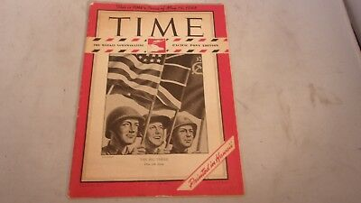 """Time Magazine Pacific Pony Edition """" The Big Three"""" May 14,1945"""