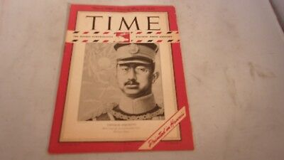 """Time Magazine Pacific Pony Edition """" Emperor Hirohito"""" May 21,1945"""