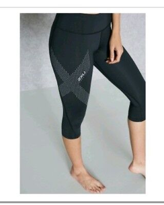 2xu womens compression tights 3/4 Size S