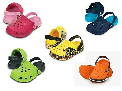 e43deea6f3f024 NWT CROCS Kids Unisex Clogs Vibrant Colors SELECT SIZE   COLOR