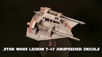 Star Wars Legion Decals for T-47 AIRSPEEDER Unit Expansion