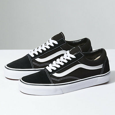 7e37ebebdf New Men and Women Vans Old Skool Black Skateboarding Shoes Classic Canvas  Suede